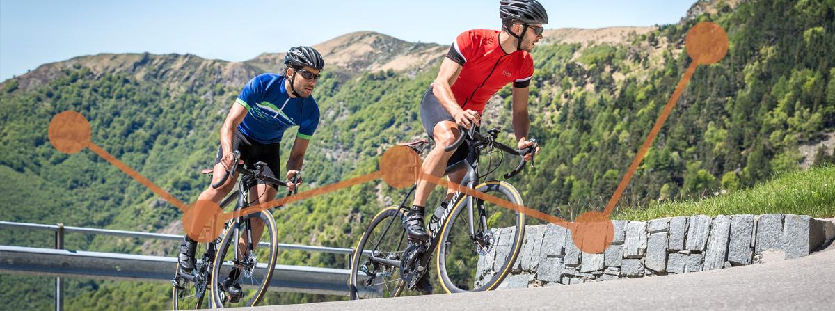 Cykeldator rutter och banor